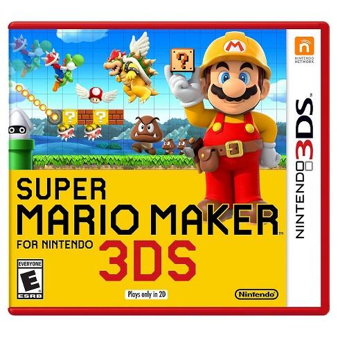 Super Mario Maker - Nintendo 3DS - image 1 of 2