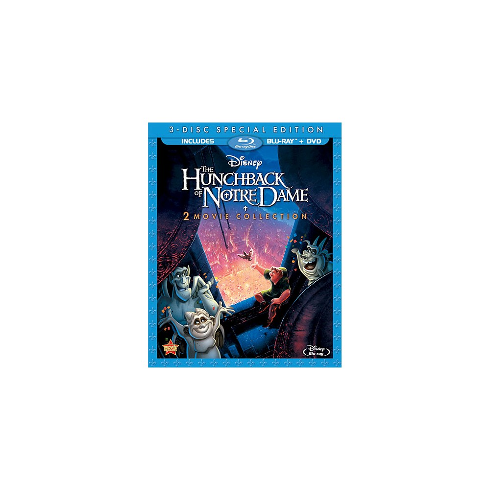The Hunchback of Notre Dame (Special Edition) (3 Discs) (Blu-ray/Dvd)
