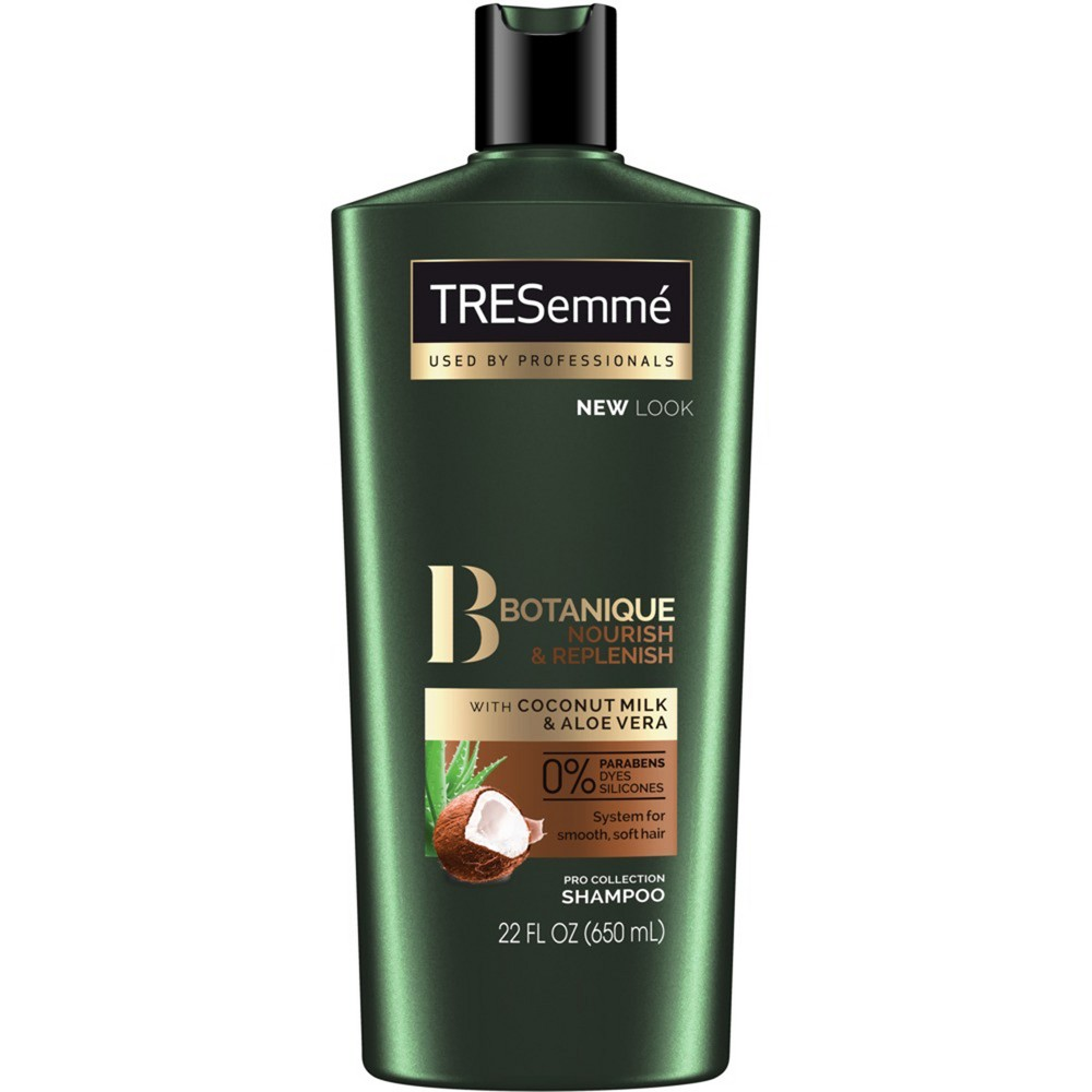 Image of TRESemme Botanique Nourish + Replenish With Coconut Milk & Aloe Vera Shampoo - 22 fl oz