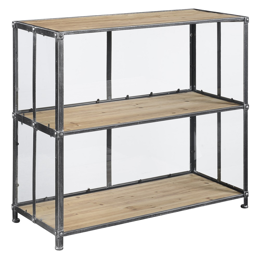 Johar Furniture Viking Console Table Silver/Natural