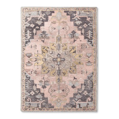 5'X7' Damask Area Rug - Threshold™