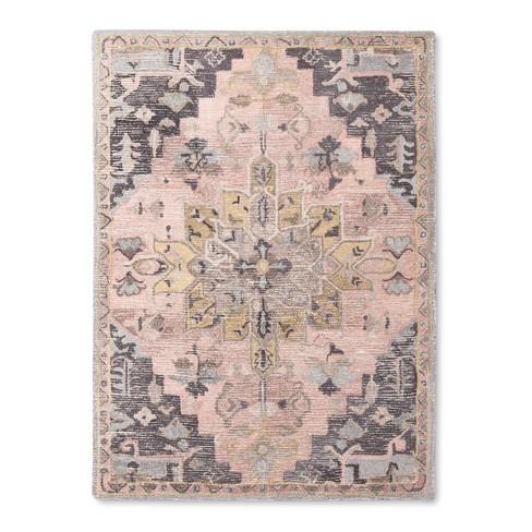 Damask Tufted Vintage Wool Rug - Threshold™ - image 1 of 3