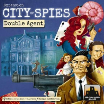 City of Spies - Double Agent Expansion Board Game