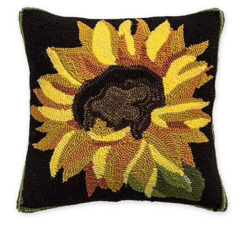 Indoor Outdoor Sunflower Throw Pillow Plow Hearth Target