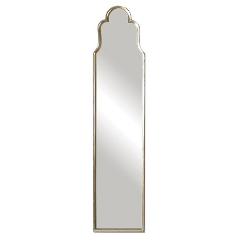 Rectangle Cerano Arched Decorative Wall Mirror Silver - Uttermost - image 1 of 1