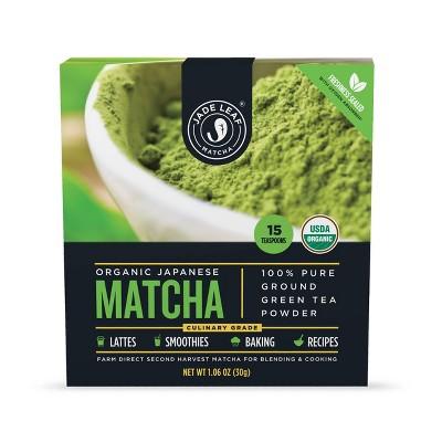 Jade Leaf Classic Culinary Matcha Green Tea Powder Mix 1oz : Target