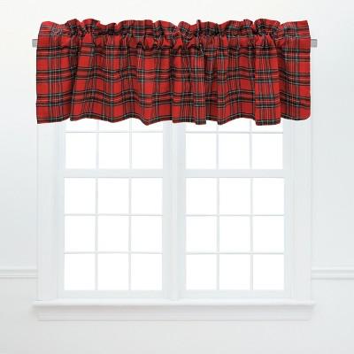 C&F Home Arlington Plaid Cotton Valance Window Treatment