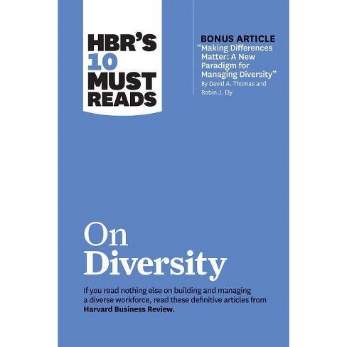 "Hbr's 10 Must Reads on Diversity (with Bonus Article ""making Differences Matter: A New Paradigm for - image 1 of 1"