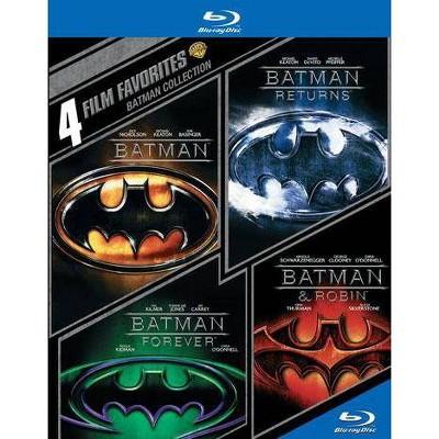 Batman Collection: 4 Film Favorites (Blu-ray)