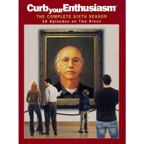 Curb Your Enthusiasm: The Complete Sixth Season (2 Discs) (DVD) - image 1 of 1