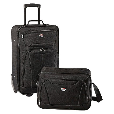 American Tourister Fieldbrook II 2pc Luggage Set - Black - image 1 of 4