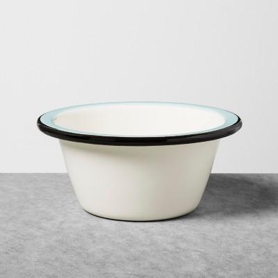 Enamel Bowl - Black/Blue - Hearth & Hand™ with Magnolia