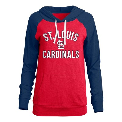 MLB St. Louis Cardinals Women's Bi-blend Lightweight Hoodie