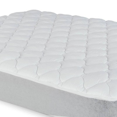 eLuxury Extra Plush Mattress Pad with Fitted Skirt