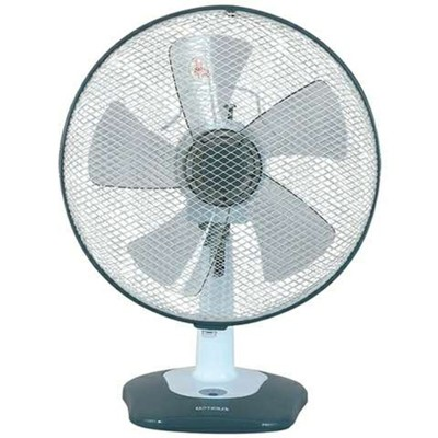 Optimus 12 Inch Oscillating Table Fan with Soft Touch Switch