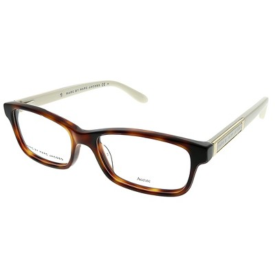 Marc by Marc Jacobs  C4D Womens Rectangle Eyeglasses Brown 51mm