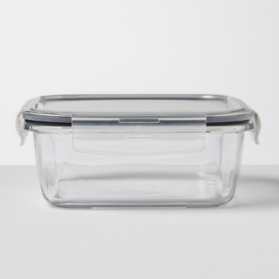Square Glass Food Storage Container 5.1 cup - Made By Design™