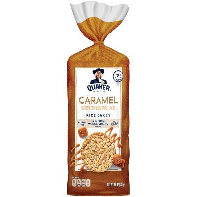 Quaker Caramel Corn Gluten Free Rice Cakes - 6.56oz
