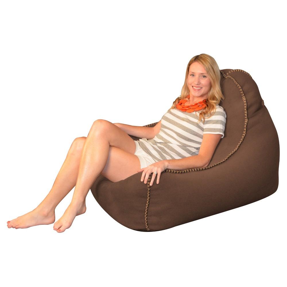 Image of Laguna Lounger Bean Bag Chair - Brown - Relax Sacks