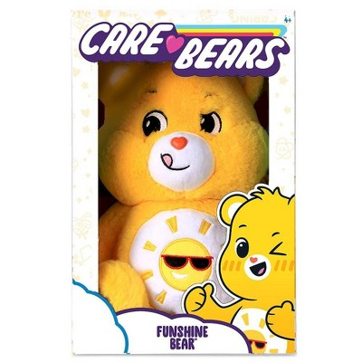 "Care Bears Funshine 14"" Medium Plush"