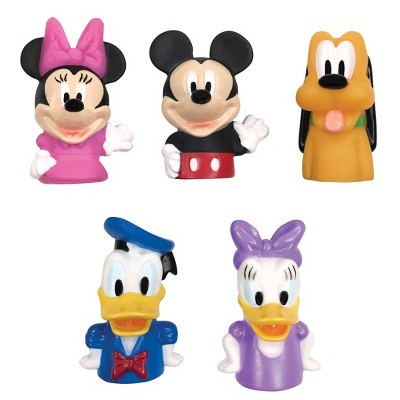 Disney Mickey Mouse and Friends Bath Finger Puppets 5pk