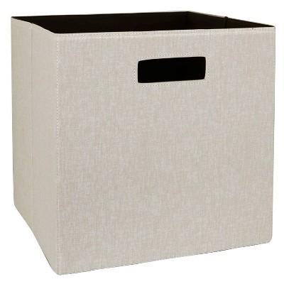 "13"" Fabric Cube Storage Bin - Threshold™"