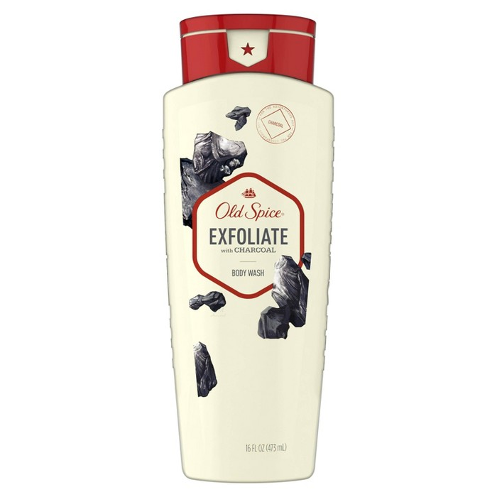 Old Spice Body Wash For Men Exfoliate With Charcoal Scent Inspired By Nature - 16 Fl Oz : Target
