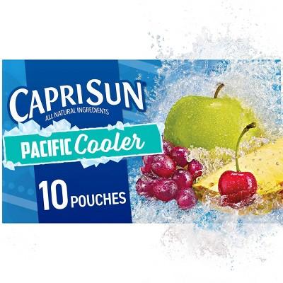 Capri Sun Pacific Cooler Juice Pack - 10pk/6 fl oz Pouches
