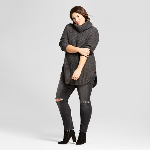 4f64a4cdb82 Women s Plus Size Chunky Cowlneck Sweater - A New Day™. Shop all A New Day