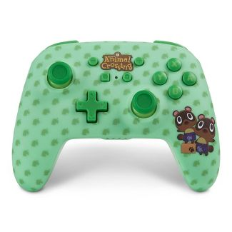 PowerA Enhanced Wireless Controller for Nintendo Switch - Animal Crossing Timmy and Tommy