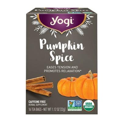 Yogi Tea Pumpkin Spice Tea - 16ct