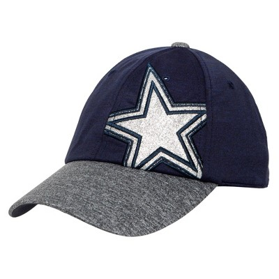 NFL Dallas Cowboys Women's Blazingstar Hat - Gray
