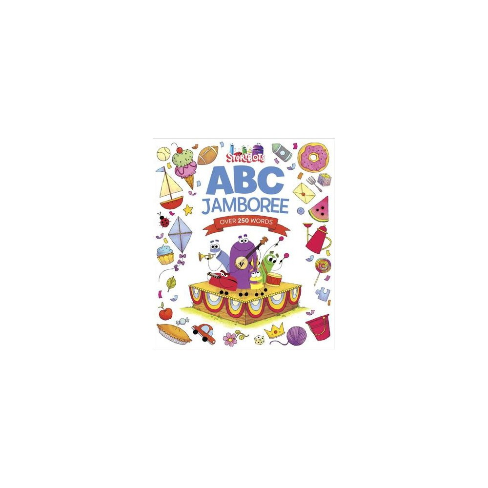 Abc Jamboree - (Storybots) by Scott Emmons (Hardcover)