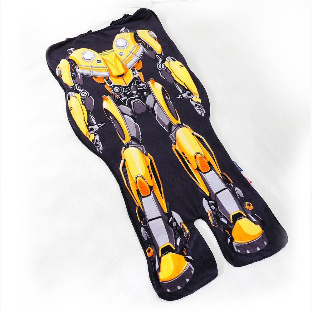 Image of Transformers Bumblebee Blanket Yellow