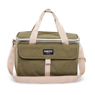 Igloo Nostalgia Lunch Sack - Olive