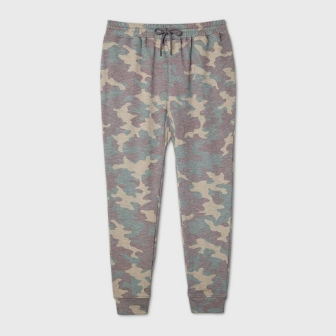 "Men's Camo Print 29"" Mid-Rise Jogger Pants - Original Use™ Green - image 1 of 1"