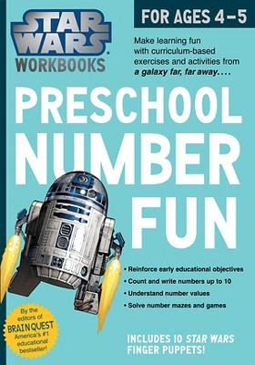 Star Wars Workbook: Preschool Number Fun! by Workman Publishing (Paperback)