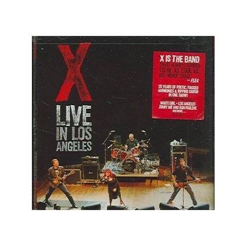 X - Live in Los Angeles (EXPLICIT LYRICS) (CD) - image 1 of 1