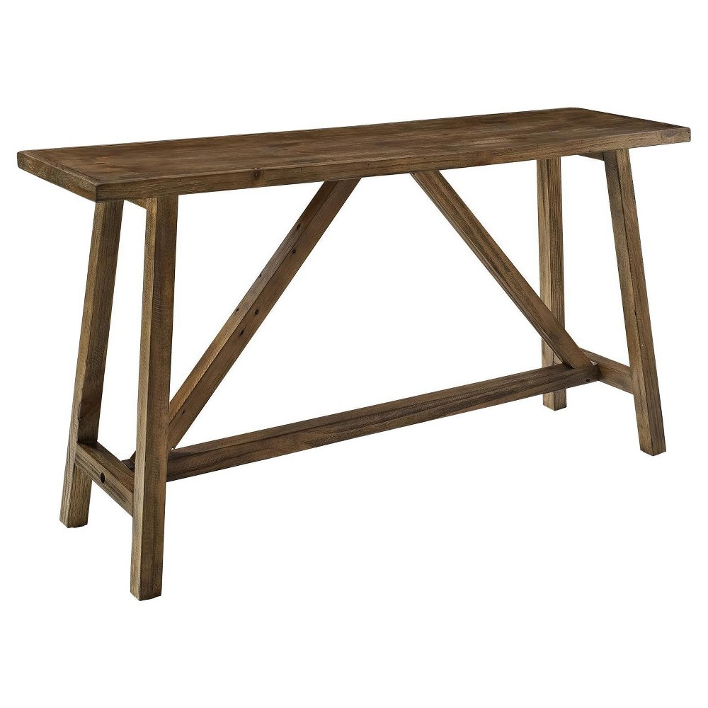 Highline Console Table - Rustic - Room & Joy, Brown