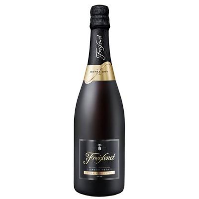 Freixenet Cordon Negro Extra Dry Cava Sparkling White Wine - 750ml Bottle