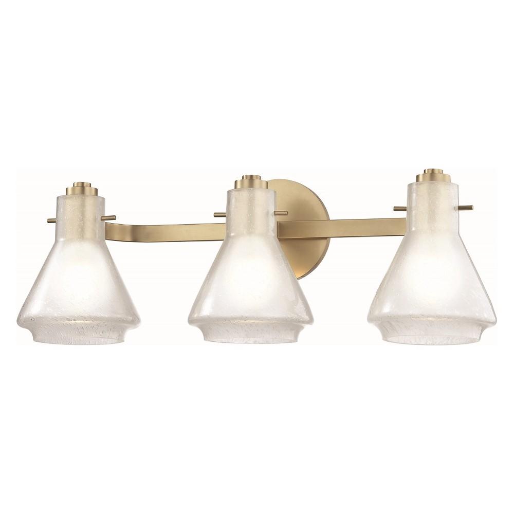 3pc Rosie Bath Light Brass - Mitzi by Hudson Valley