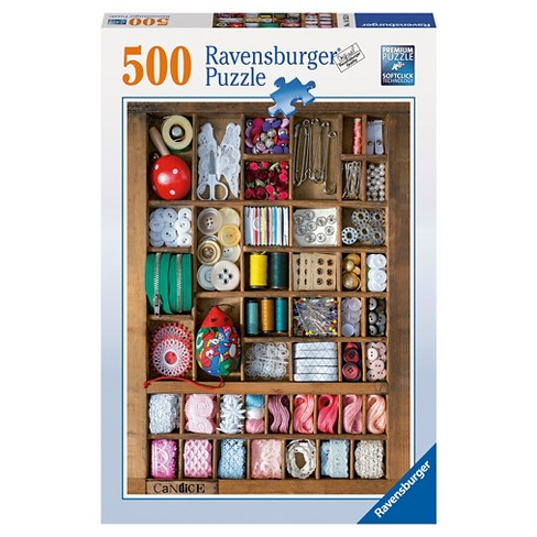 The Sewing Box 500pc Puzzle - image 1 of 2