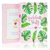 Truth or Dare Game, 40-Piece Bachelorette Party Card Games for Adults, Girls Night Out, Bridal Shower, Tropical Palm Leaves Design - image 3 of 4