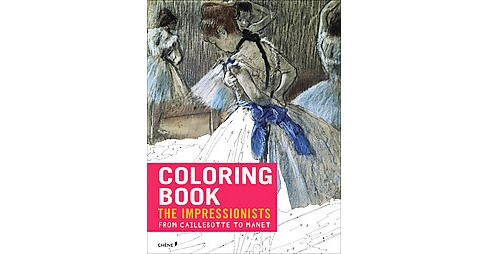 Coloring Book Impressionists from Caille (Paperback) - image 1 of 1