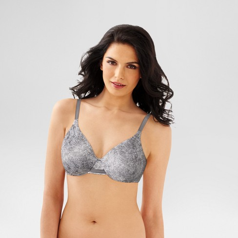 25c93d17a0 Beauty By Bali® Women s Concealing Petals Underwire Bra Gray ...