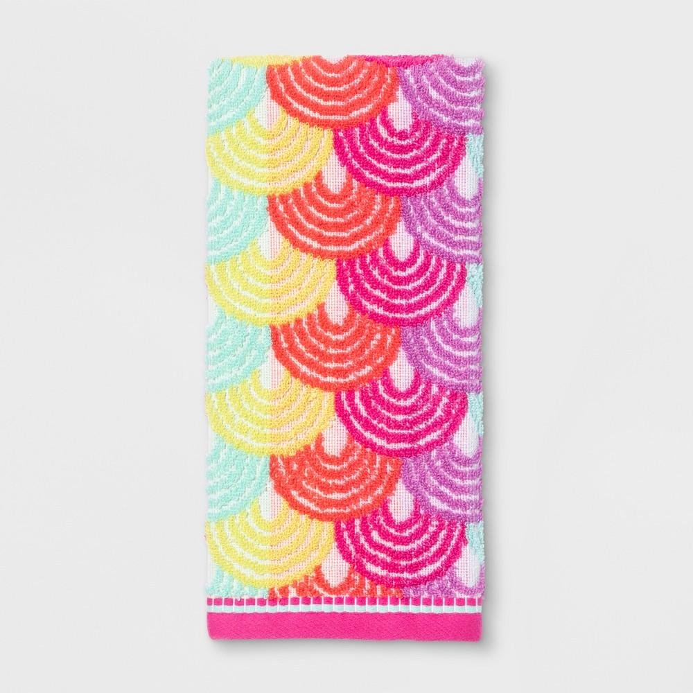 Best Online Scallop Hand Towel Pink Pillowfort