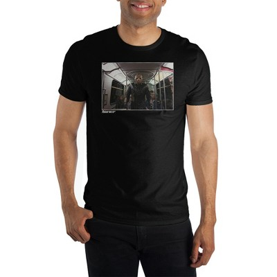 Mens Black Friday the 13th Classic Horror Movie Graphic Tee Shirt