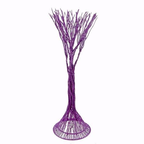 Dept 56 Accessories Haunted Branches Purple Halloween Glitter  -  Decorative Figurines - image 1 of 1