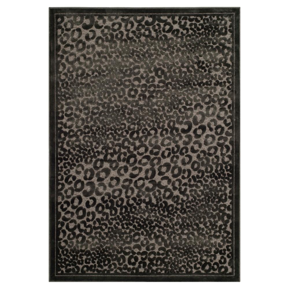 Emily Area Rug - Charcoal (Grey) / Multi (4' X 5' 7) - Safavieh