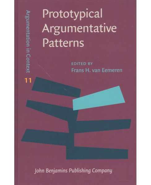Prototypical Argumentative Patterns : Exploring the Relationship Between Argumentative Discourse and - image 1 of 1
